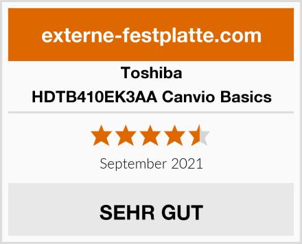 Toshiba HDTB410EK3AA Canvio Basics Test