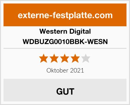 Western Digital WDBUZG0010BBK-WESN Test