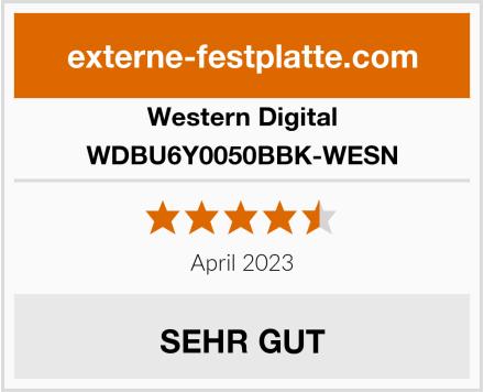 Western Digital WDBU6Y0050BBK-WESN Test