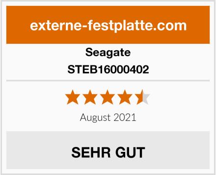 Seagate STEB16000402 Test