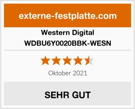 Western Digital WDBU6Y0020BBK-WESN Test