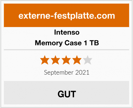 Intenso Memory Case 1 TB Test