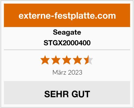 Seagate STGX2000400 Test