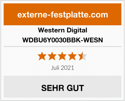 Western Digital WDBU6Y0030BBK-WESN Test