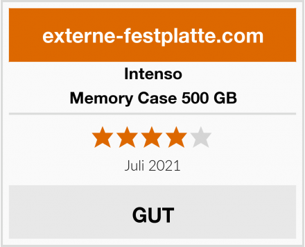 Intenso Memory Case 500 GB Test