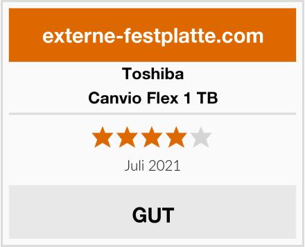 Toshiba Canvio Flex 1 TB Test