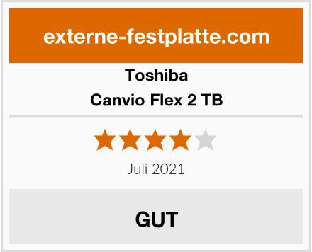 Toshiba Canvio Flex 2 TB Test