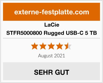 LaCie STFR5000800 Rugged USB-C 5 TB Test