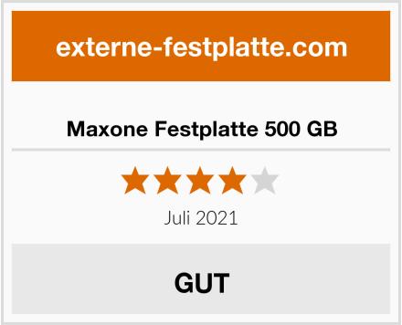 Maxone Festplatte 500 GB Test