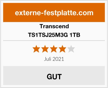 Transcend TS1TSJ25M3G 1TB Test