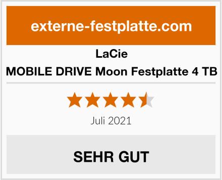 LaCie MOBILE DRIVE Moon Festplatte 4 TB Test