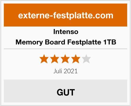 Intenso Memory Board Festplatte 1TB Test