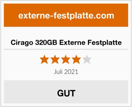 Cirago 320GB Externe Festplatte Test