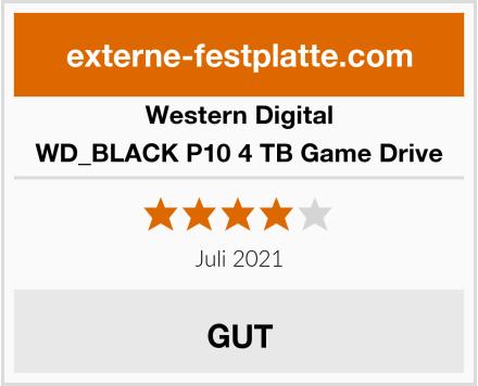 Western Digital WD_BLACK P10 4 TB Game Drive Test