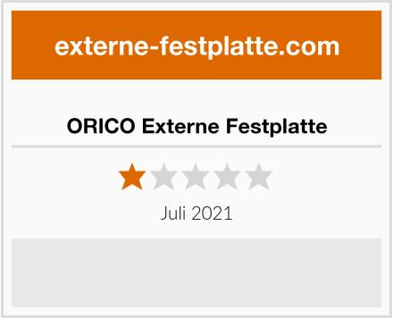 ORICO Externe Festplatte Test