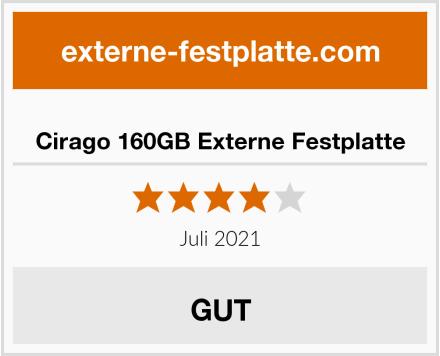 Cirago 160GB Externe Festplatte Test