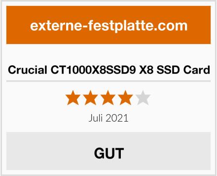 Crucial CT1000X8SSD9 X8 SSD Card Test