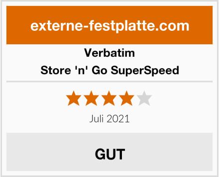 Verbatim Store 'n' Go SuperSpeed Test