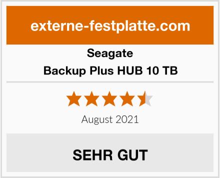 Seagate Backup Plus HUB 10 TB Test