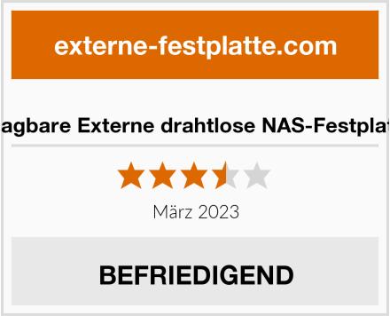 SSK Tragbare Externe drahtlose NAS-Festplatte 1TB Test