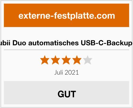 Maktar Qubii Duo automatisches USB-C-Backup-Laufwerk Test