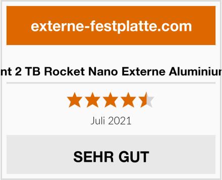 Sabrent 2 TB Rocket Nano Externe Aluminium SSD Test