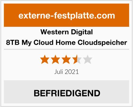 Western Digital 8TB My Cloud Home Cloudspeicher Test