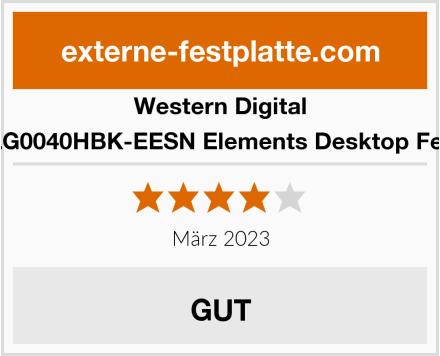 Western Digital WDBWLG0040HBK-EESN Elements Desktop Festplatte Test
