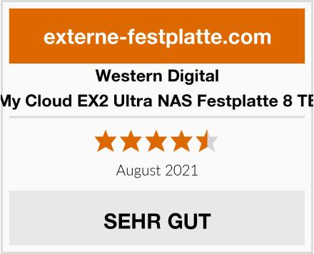 Western Digital My Cloud EX2 Ultra NAS Festplatte 8 TB Test