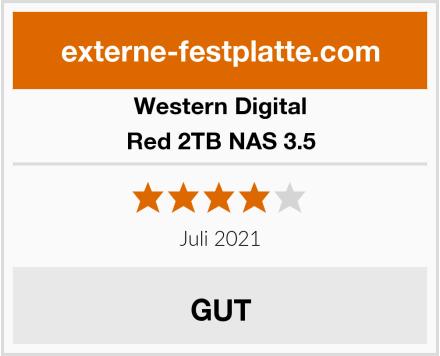 Western Digital Red 2TB NAS 3.5 Test