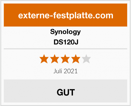 Synology DS120J Test