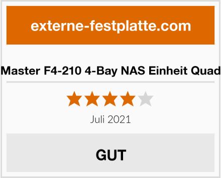 TerraMaster F4-210 4-Bay NAS Einheit Quad Core Test