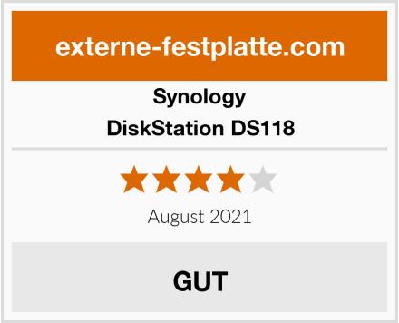 Synology DiskStation DS118 Test