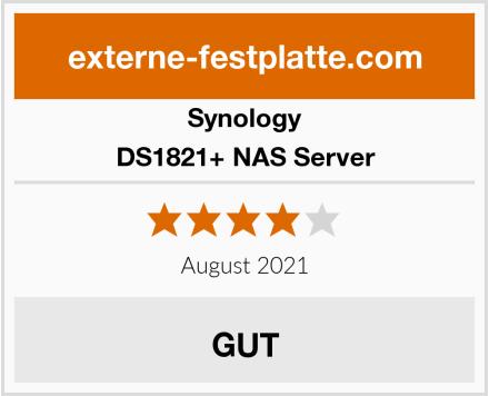 Synology DS1821+ NAS Server Test