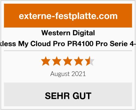 Western Digital Diskless My Cloud Pro PR4100 Pro Serie 4-Bay Test
