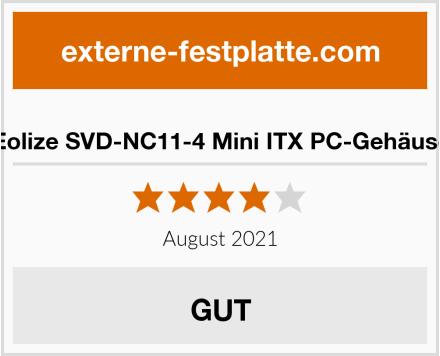 Eolize SVD-NC11-4 Mini ITX PC-Gehäuse Test