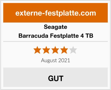 Seagate Barracuda Festplatte 4 TB Test