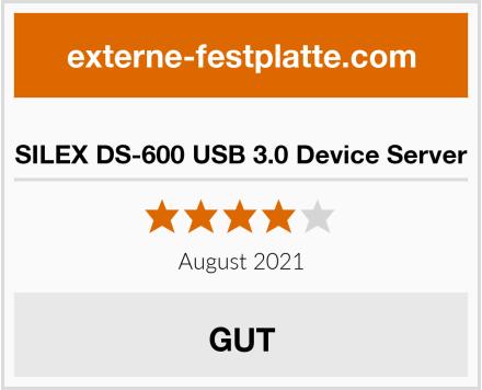 SILEX DS-600 USB 3.0 Device Server Test