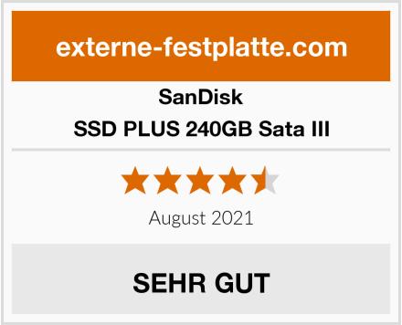 SanDisk SSD PLUS 240GB Sata III Test