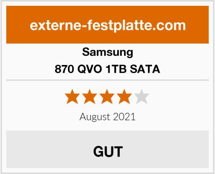 Samsung 870 QVO 1TB SATA Test