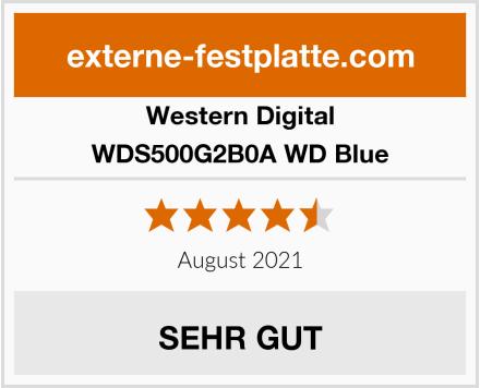 Western Digital WDS500G2B0A WD Blue Test