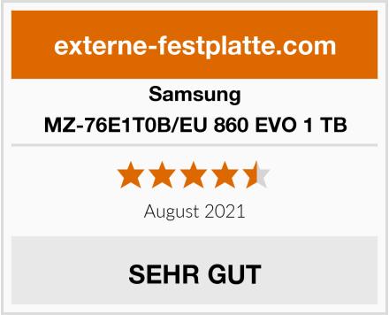 Samsung MZ-76E1T0B/EU 860 EVO 1 TB Test