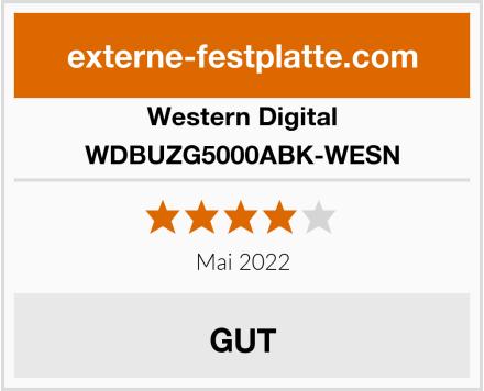 Western Digital WDBUZG5000ABK-WESN Test