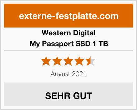 Western Digital My Passport SSD 1 TB Test