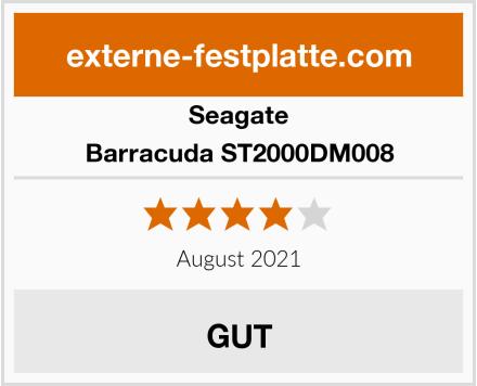 Seagate Barracuda ST2000DM008 Test