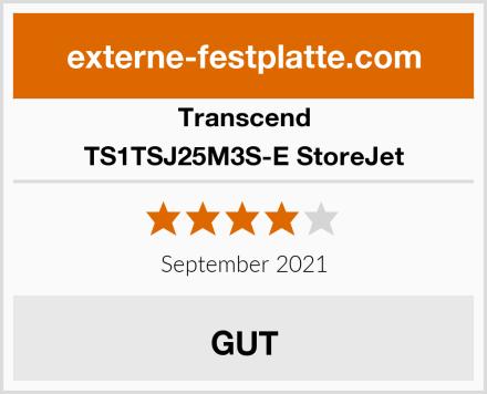 Transcend TS1TSJ25M3S-E StoreJet Test