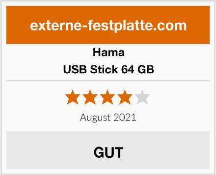 Hama USB Stick 64 GB Test