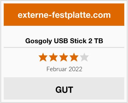 Gosgoly USB Stick 2 TB Test