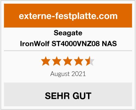 Seagate IronWolf ST4000VNZ08 NAS Test