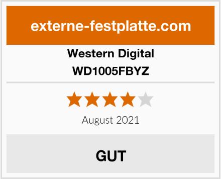 Western Digital WD1005FBYZ Test